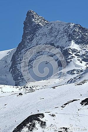 The kleiner Matterhorn