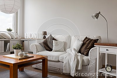 kleines gemütliches wohnzimmer stockfoto - bild: 56948305 - Kleine Gemutliche Wohnzimmer