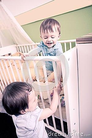 Spielen des Babys