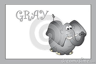 Kleuren: grijs