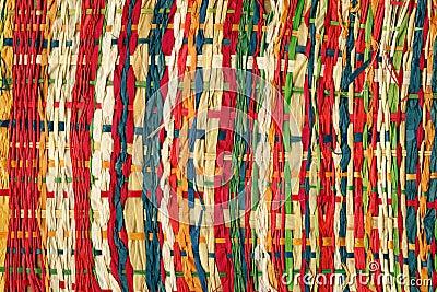 Kleurrijk document weefsel