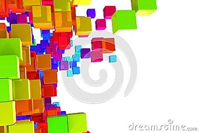 Kleurrijke blokken