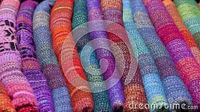 Kleurrijke deken