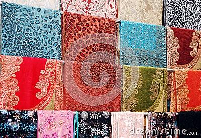 Kleurrijke doek