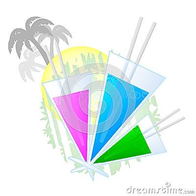 Kleurrijke vakantie