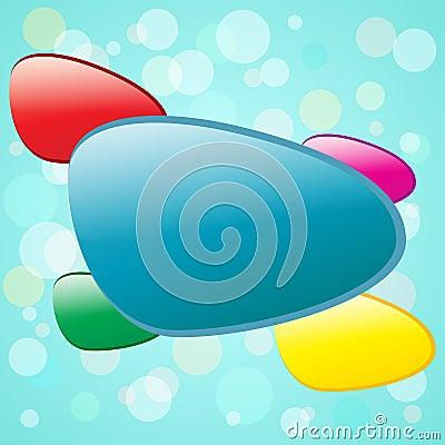 Kleurrijke vormen