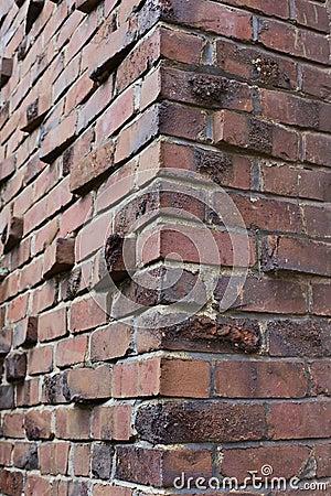 Klinker Or Clinker Brick Corner Stock Photography Image
