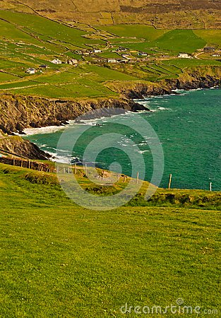 Klippe auf Dingle-Halbinsel, Irland