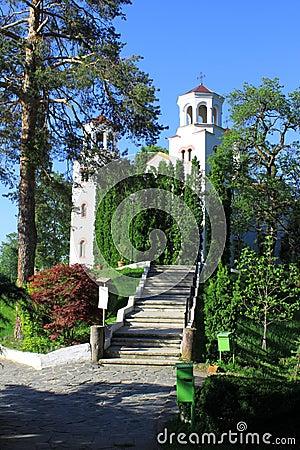 Free Klisurski Monastery Church And Park Royalty Free Stock Images - 25549089