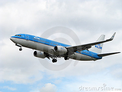 KLM airlines aircraft Editorial Stock Photo