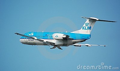 KLM Cityhopper Editorial Stock Photo