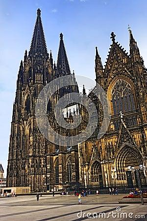 Kölner Dom Editorial Stock Photo