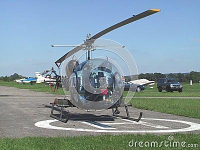 Klok B-46 van de helikopter