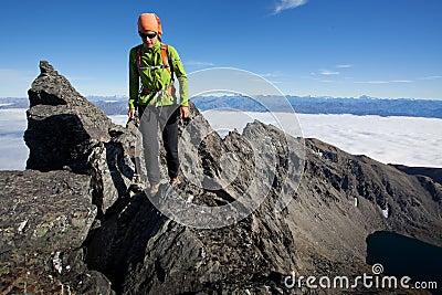 Klättra i berg