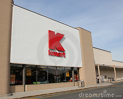 Kmart Store Editorial Stock Image