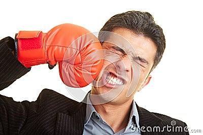 Kämpfen gegen selbst