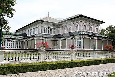 Knall-PA-im königlichen Platz