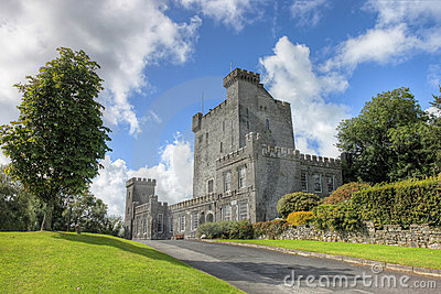 The Knappogue Castle in Co. Clare, Ireland.