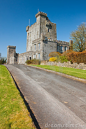 Knappogue Castle in Co. Clare - Ireland.