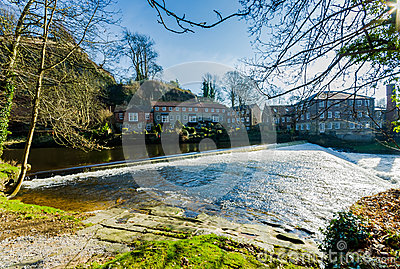Knaresborough weir