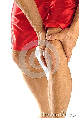 Free Knee Injury Stock Photo - 21157000