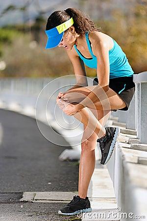Free Knee Injury Stock Photo - 25746390