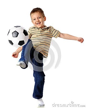 Kneeing the Ball