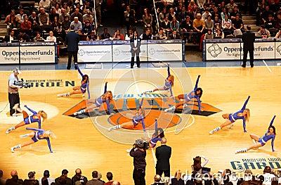 Knicks Cheerleaders Editorial Photography