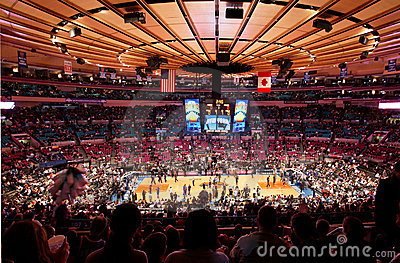 Knicks X Indiana Pacers Madison Square Garden Editorial Stock Image Image 10340549