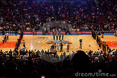Knicks X Indiana Pacers Madison Square Garden Editorial Stock Image Image 10758999