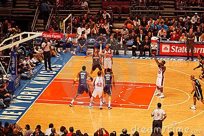 Knicks x Indiana Pacers Madison Square Garden Editorial Image