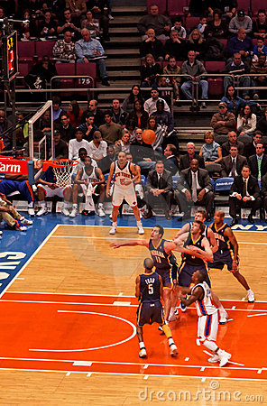 Knicks x Indiana Pacers Madison Square Garden Editorial Photography