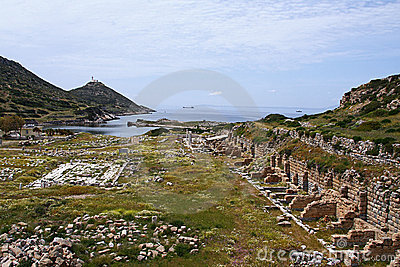 Knidos in Turkey