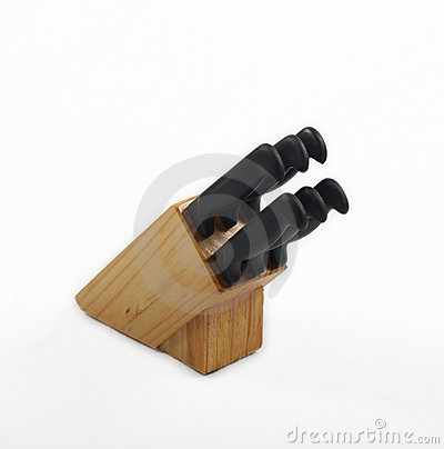 Knife Block And Knives