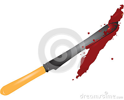 Knife in the blood