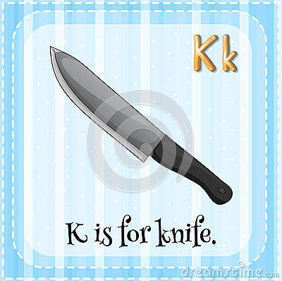 Knife Stock Vector Image 54493159