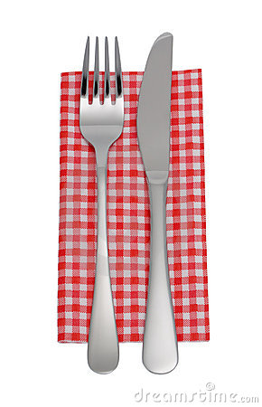 Knife Fork Napkin Stock Images Image 19127374