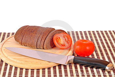 Knife mad bread