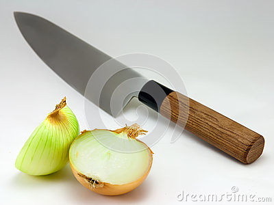 Knife and Onion