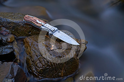 Knife in the stream