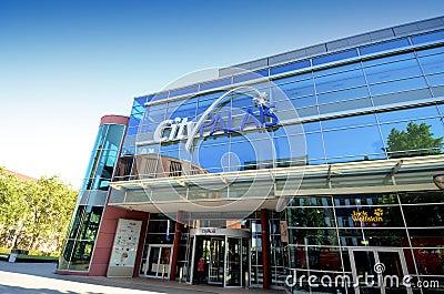 König-Heinrich Square - City Palais Editorial Photo