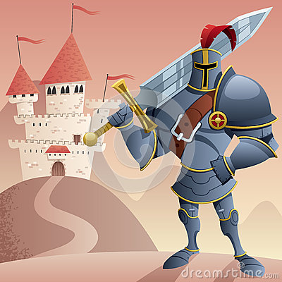 Free Knight 2 Stock Image - 58748121