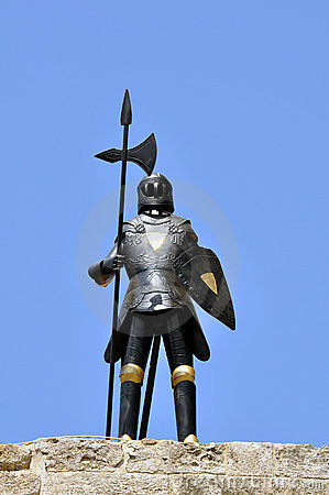 Knight armor, Rhodes.