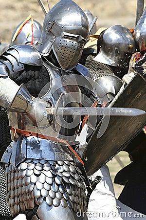 Free Knight Attacks Royalty Free Stock Photo - 8198335