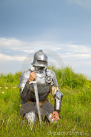 Knight, after the battle