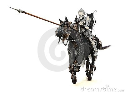 Knight on charger