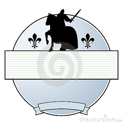 Knight  coat of arms