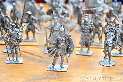 Knight figures