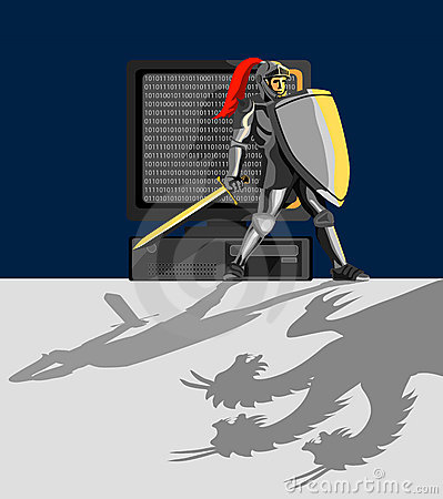 Knight protecting pc
