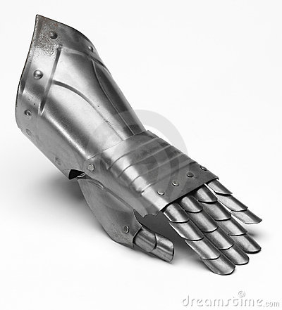 Free Knight S Glove Royalty Free Stock Image - 6486196